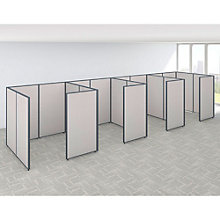 "66""H Four Person Side by Side Workstation Panel Set, 8805210"