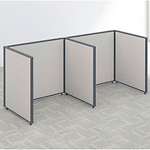 """42""""H Two Person Open Workstation Panel Set, 8805212"""