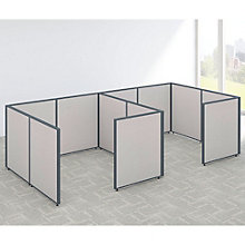 """42""""H Two Person Workstation Panel Set, 8805214"""