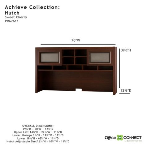 Detailed dimensions - Hutch