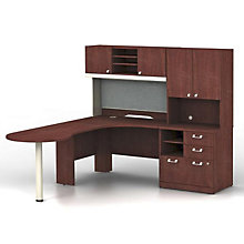 Quantum Left Hand Peninsula L-Desk, BUS-QUA005CSL