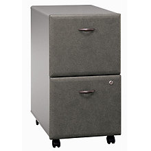 Series A Fully Assembled Two Drawer Mobile File, BUS-10113
