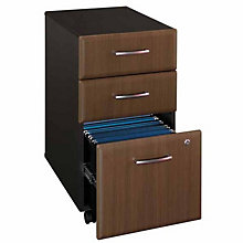 "Series A Fully Assembled Three Drawer Mobile File - 15.75""W, BUS-10106"