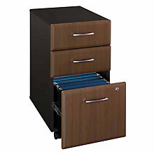 "Series A Unassembled Three Drawer Mobile File - 15.75""W, BUS-10112"