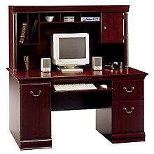 Birmingham Computer Desk with Hutch, BUS-WC26620-03