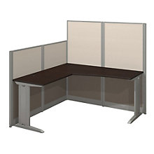 L Workstation with Panels, 8828275