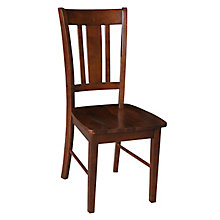 Armless Wood Chair, 8812990