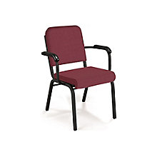 Standard Fabric Stack Chair with Arms, 8822483