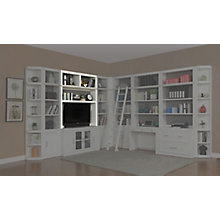 "56"" Bookcase TV Hutch, 8827475"
