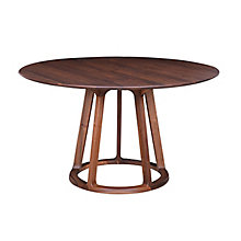 Aldo Round Dining Table Walnut, 8808379