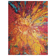 "Floral Abstract 3'11"" x 5'11"", 8820259"