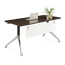 "Astoria Compact Table Desk with Modesty Panel - 60""W x 30""D, 8807826"