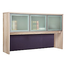 "At Work Hutch with Glass Doors - 60""W, 8825942"