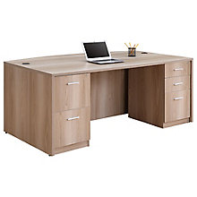 "Bowfront Executive Desk - 71""W, 8826973"