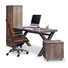 Industrial Compact Desk Set, 8827605
