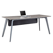 "Writing Desk with Modesty Panel - 72""W x 30""D , 8827636"