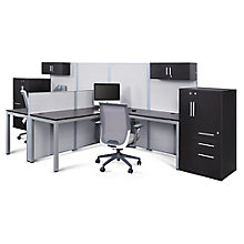 Dual Office Set with Wardrobes, 8827627
