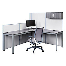 Corner Desk with Panels Set, 8827628