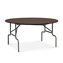 "Valuemax Round Folding Table - 60"" Diameter, 8827716"