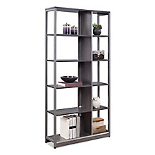 "At Work 72""H Ten Compartment Bookcase, 8827992"