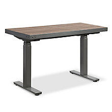 "Rivet Height Adjustable Desk - 48""W x 24""D, 8828230"