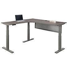 "Left Return Corner Desk with Modesty Panel - 72""W, 8828270"