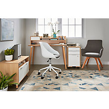 "Freya Compact Home Office Set - 48"" Desk, 8828913"