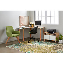 "Freya 48"" Corner Desk Set, 8828914"