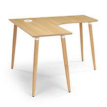 """Freya Compact Corner Desk - 48""""W x 48""""D, 8828877"""
