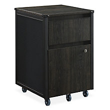Axle Two-Drawer Mobile Pedestal, 8828904