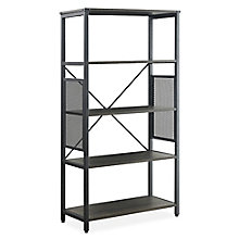 "Axle Four-Shelf Bookcase - 30""W x 57.5""H, 8828908"