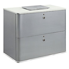 "Brilliant 37""W Two Drawer Lateral File, 8826750"