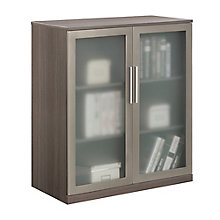 At Work Storage Cabinet with Glass Doors, 8807733