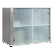 "Storage Cabinet W/ Glass Doors - 37""W, 8826752"