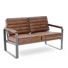 Rivet Two-Seat Lounge Loveseat , 8827741