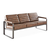 Rivet Three-Seat Lounge Sofa, 8827742