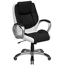 bonded leather office chair, 8811893