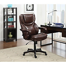 Executive Big & Tall Bonded Leather Office Chair, 8825945