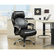 Big and Tall Executive Bonded Leather Office Chair 8825949  sc 1 st  Office Furniture : computer chairs for big guys - Cheerinfomania.Com