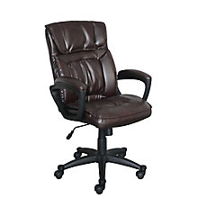 Office Chair in Fabric or Faux Leather, 8825956
