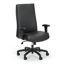 24-Hour Big & Tall High-Back Leather Chair, 8826912