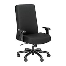 24-Hour Big & Tall Hi Back Fabric Chair, 8826913