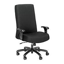 24-Hour Big & Tall Hi Back Fabric Chair, 8826913