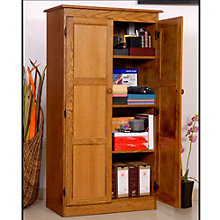 Multi-Purpose Oak Storage Cabinet, CIW-KT613