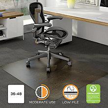 """Decorative Chairmat for Carpet- 36"""" x 48"""", 8824029"""