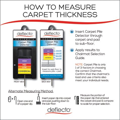 Measure Carpet Thickness