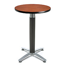 "24""Rd Metal Mesh Base Table, 8811654"