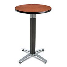 "24""Rd Metal Mesh Base Table, 8811654"