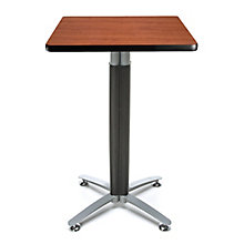 "24""Sq Metal Mesh Base Table, 8811655"