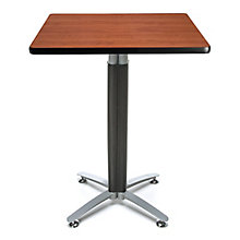"30""Sq Metal Mesh Base Table, 8811657"